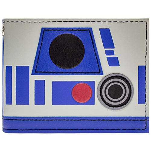 Star Wars R2-D2 Droid Helm Blau Portemonnaie Geldbörse