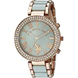 U.S. Polo Assn. Fashion Dial Women'S Green Watch_ Usc40083