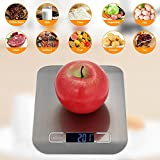 #9: Easelife Premium Quality Digital Kitchen Scale Multi Function Stainless Steel Food Scale