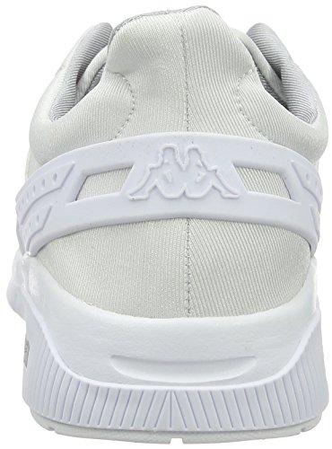 Kappa York, Baskets Basses Mixte Adulte Blanc - Weiß (1010 White)