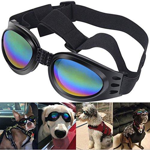 Gafas De Sol Plegables Del Perro De Animal Doméstico Gafas De La Protección ULTRAVIOLETA De Las Gafas A Prueba De Viento Gafas Del Perro Casero