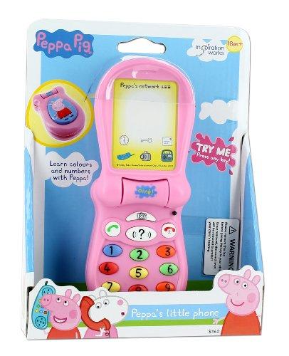 Inspiration Works S1160 Peppa Pig - Teléfono de juguete