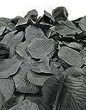500 schwarze Rosenblätter - Dekoration, Beerdigung, Beisetzung, Streudeko, Basteln - künstliche Blütenblätter - 2