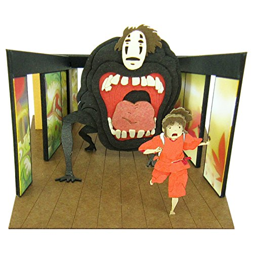 Studio Ghibli Papercraft El viaje de Chihiro para montar