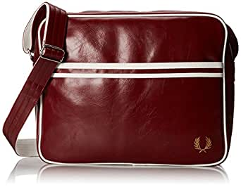 Fred Perry Classic Shoulder Bag in Ox Blood