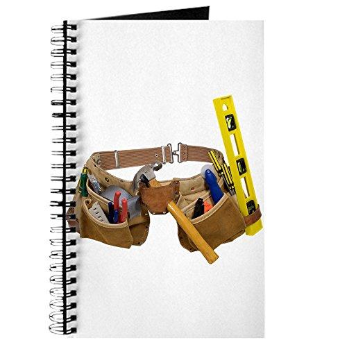 CafePress–Werkzeug Gürtel–Spiralbindung Journal Notebook, persönliches Tagebuch, Dot Grid