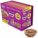 Whiskas Wet Meal Kitten Cat Food, Chicken in Gravy, 85 g (Pack of 12)