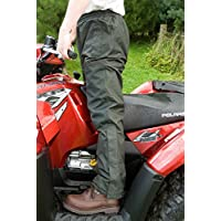 Hoggs of Fife Green King - Pantalones Impermeables (Talla Mediana), Color Verde