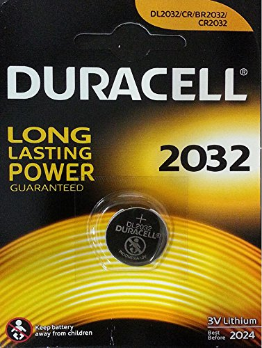 Duracell 10DUCR2032 Lithium Knopfzelle (3 Volt, 10-er Pack) (Duracell 3v Lithium Cell Battery)