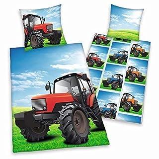 Trecker Bettwäsche Herding glatt Traktor Geschenk RV 135 x 200 cm Wow - All-In-One-Outlet-24 -