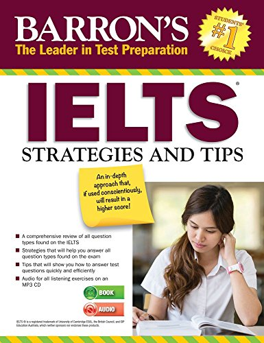 IELTS Strategies and Tips with MP3-CD