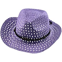 Sombrero De Paja Respirable Del Sombrero Del Sol Del Verano Del Niña Y Niño  AIMEE7 Sombrero ebf02690d114