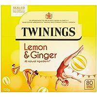 Twinings Lemon & Ginger Tea 80 Bag
