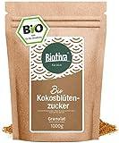 Zucchero di cocco Bio (1 kg) - 100% Organic - coconut fiore di zucchero con naturalmente dolce - nota di caramello commercio equo e solidale - 1:1 come lo zucchero - Basso indice glicemico - per i diabetici- Imbottigliato e controllato in Germania (DE-ECO-005)