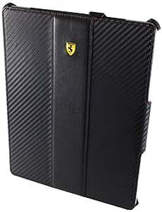 Ferrari Challenge Étui en cuir pour iPad 2 Noir