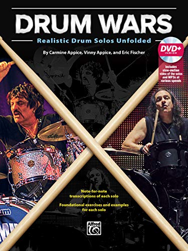 Drum Wars - Realistic Drum Solos Unfolded (incl. DVD)