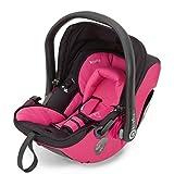 Kiddy 41920EV052 Evolution Pro 2 Babyschale, patentierte KLF-Liegefunktion, Isofix-fähig, Gruppe 0+ (0-13 kg, Geburt-ca. 15 Monate), Pink