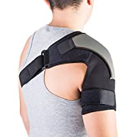 Schulterbandage für AC-Gelenke & Sehnenentzündungen | Schulterstütze zur schmerzlinderung & Schutz vor Verletzungen... preisvergleich bei billige-tabletten.eu