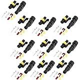 Conector de Alambre Tipo Enchufe - Sellada Impermeable - Juego de 10 - Coche - Eléctrico