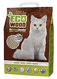 Crystal Rocks Katzenstreu ECO Wood neutral | Premium Streu aus Holz, für Katzen