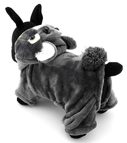 Koala Süßes Kostüm - zunea Süßer Hund Koala Kostüm Halloween Pet Pyjama Jumpsuit Velvet Soft Warm Cosplay Thema Party Outfits Apparel, für kleine Welpen Hund Katze