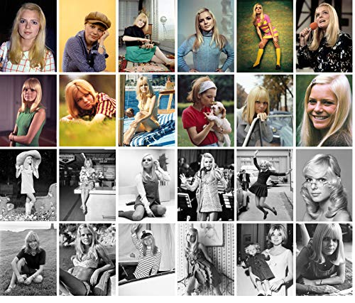 Carte Postale Set 24 cards FRANCE GALL Posters Photos Vintage Magazine covers French Pop Music