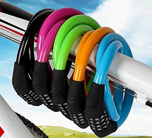 Serrure De Bicyclette MTB Vélo Antivol De Vélo D'immobilisation Cisaillement P3,Purple