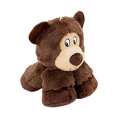 KONG Stretchezz Legz Bear Dog Toy, Large
