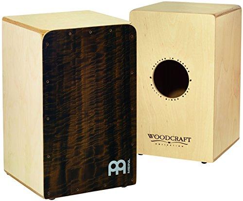 Meinl Percussion WCAJ300Nt-QE Woodcraft con acolchado en la parte delantera de eucalipto 2 x cajón Snareteppichen ajustable y esquinas