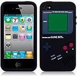 Housse silicone Apple iPhone 4 par Terrapin - Noir