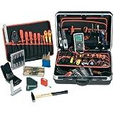 Toolcraft Lehrlinge Werkzeugkoffer bestückt 85teilig Mechatroniker 824497 (B x H x T) 490 x 185 x 4