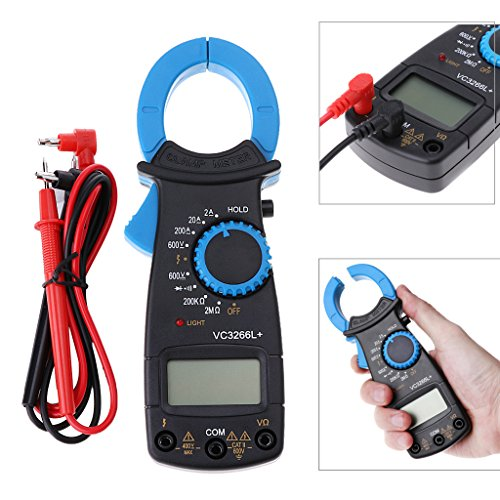 Qiman VC3266L + Digital Clamp Multimeter AC / DC Spannung Amp Ohm Elektronische Tester Meter (Amp Clamp)