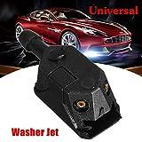 RAISSER 1X Universal Car Arm Windscreen Washer Wiper Blade Water Spray Jets Nozzle Black