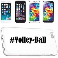cubierta del teléfono inteligente iPhone 6 Hashtag ... #Volley-Ball ... en Red Social Diseño caso duro de la cubierta protectora del teléfono Cubre Smart ...