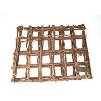 Mammutgeflecht natur 50 x 40 cm - Kletternetz für Chamäleons - Inhalt 0,2 qm / Grundpreis 19,50 €/qm