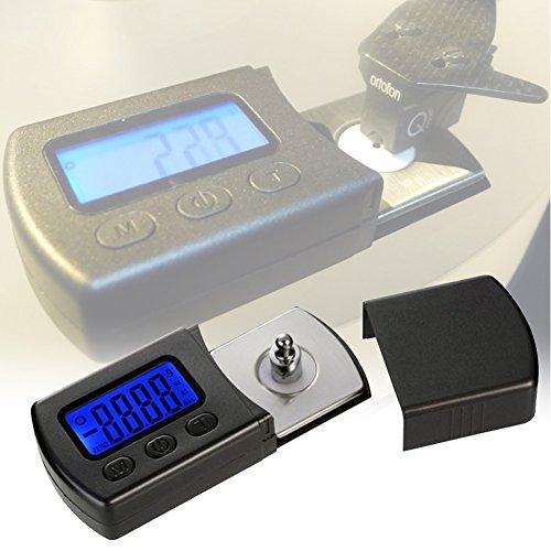 Preisvergleich Produktbild EMOTREE 1x Elektronische Digitale LCD Schallplatten Tonarmwaage Turntable Stylus Gauge