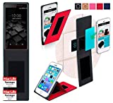 UMi Fair Hülle Cover Case in Rot - innovative 4 in 1