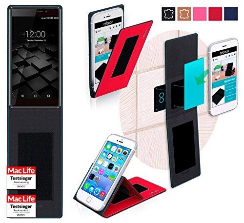 reboon Hülle für UMi Fair Tasche Cover Case Bumper | Rot | Testsieger