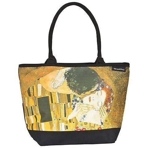 VON LILIENFELD Shoppertasche Gustav Klimt: