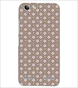 PrintDhaba Floral Pattern D-2085 Back Case Cover for LENOVO A6020a46 (Multi-Coloured)
