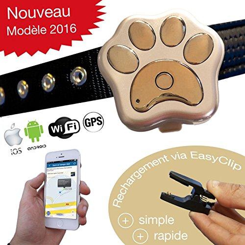 Medaillon GPS für Hunde und Katzen