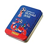 Panini FIFA World Cup 2018 Panini WM Russia 2018 - Sticker - 1 Tin Dose with 5 Mega Sticker Packets (25 Sticker)