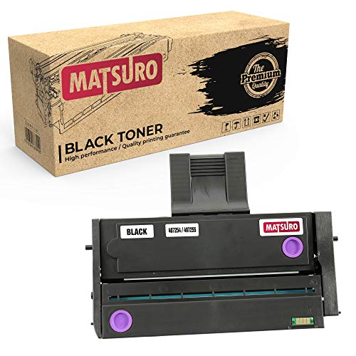 Matsuro Original | Kompatibel Tonerkartusche Ersatz für RICOH 407254 407255 (1 SCHWARZ) - Canon-211 Drucker-tinten-patronen