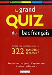 Le grand quiz du bac français