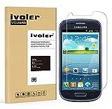 Samsung Galaxy S3 Mini Protector de Pantalla, iVoler Protector de Pantalla de Vidrio Templado...