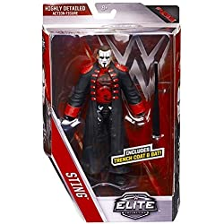 STING - WWE ELITE 39 MATTEL TOY WRESTLING ACTION FIGURE by Wrestling