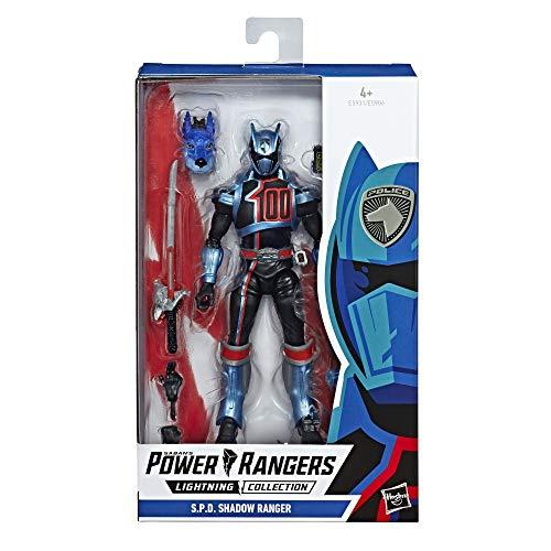 Power Rangers E5931ES0 Lightning Collection, 15 cm große S.P.D. Shadow Rangers Action-Figur zum Sammeln, Multicolor (Halloween-maske 2019 Rote)