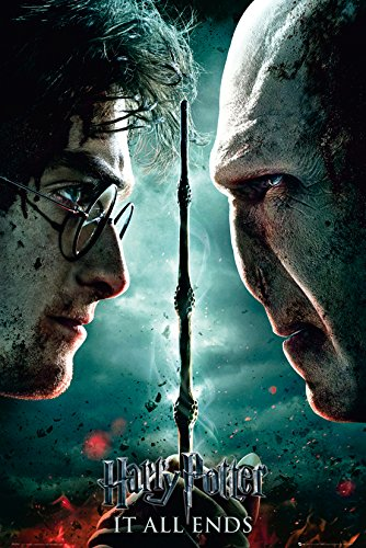 GB eye LTD, Harry Potter 7, Part 2 Teaser, Maxi Poster, 61 x 91,5 cm