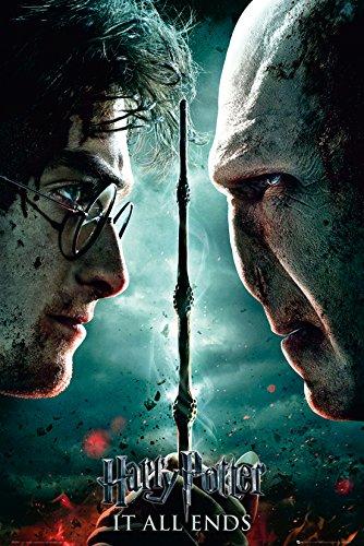 GB eye LTD, Harry Potter 7, Part 2 Teaser, Maxi Poster, 61 x 91,5 cm
