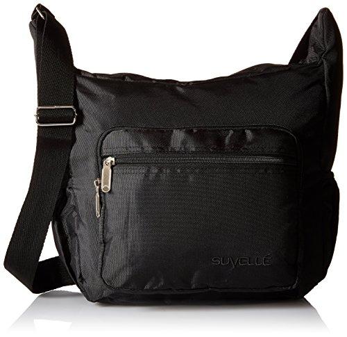 Suvelle Lightweight Hobo Travel Everyday Crossbody Bag Multi Pocket Shoulder Handbag 9020